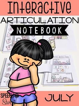 July Interactive Articulation Notebook