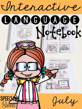 July Interactive Language Notebook