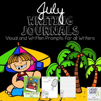 July Journals with Visual and Written Prompts