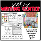 July Kindergarten Writing Center