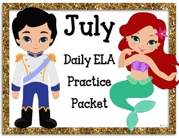 July Language Activities