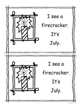 July Little Reader/Emergent Readers