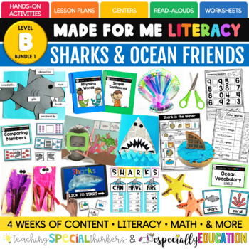July Made For Me Literacy (Sharks Coming June 15th)