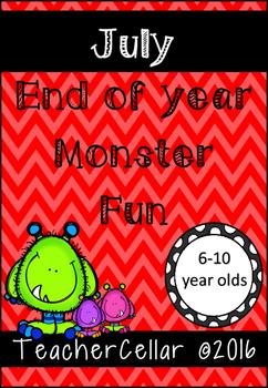 July Monster Fun