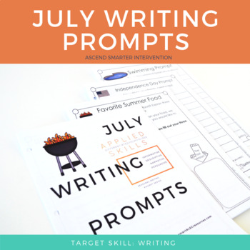 July Monthly Writing Prompts
