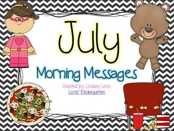 July  Morning Messages Bundle