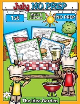 July NO PREP - Math & Literacy (First)