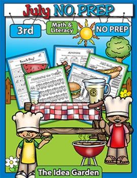 July NO PREP - Math & Literacy (Third)