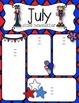 July Newsletters - freebie