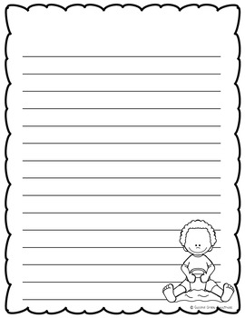 July Writing Paper Bundle
