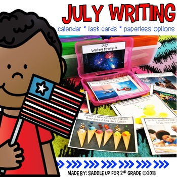 July Photo Writing Prompts