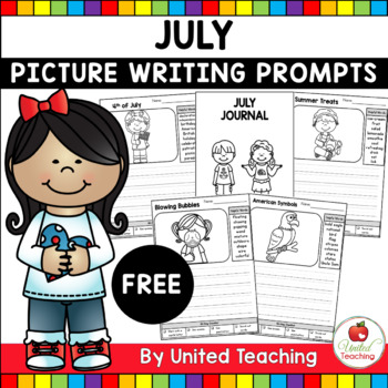 July Picture Prompts for Writing