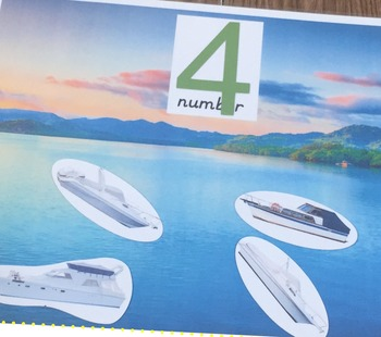 Counting Boats (with Printable)