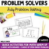 July Problem Solving