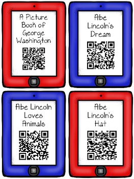 July QR Code Listening Center Read Alouds