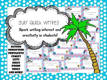 July Quick Writes