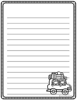 July-September Writing Paper BUNDLE