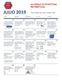 July-Summer-2019 Calendar-3rd grade- Math Activities-For Home