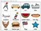July Vocabulary {Vocabulary Cards, Mini-Reader, Activities}