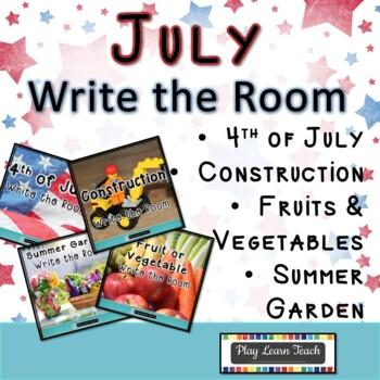 July Write the Room Bundle