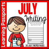 July Writing Prompts - Learning Passport