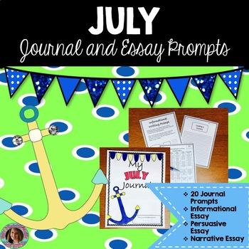 July Writing Bundle