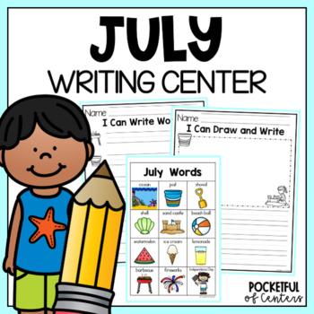 July Writing Center Mini-Packet
