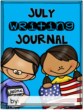 July Writing Journal {3 different levels}