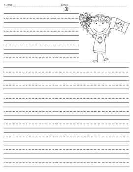 July Writing Paper