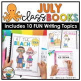 July Writing Prompts & Class Book Covers