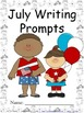 July Writing Prompts {Just Print & Go!}