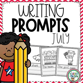 July Writing Prompts Preschool