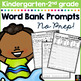 July Writing Prompts for Kindergarten to Second Grade