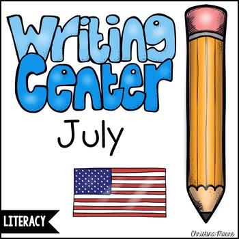 July Writing Station