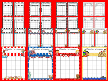 July and August Incentive Chart BUNDLE