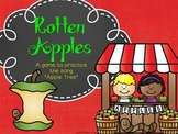 "Rotten Apples - an  ""Apple Tree"" game"