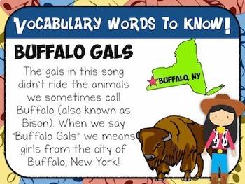 Favorite Folk Song – Buffalo Gals Teacher Kit