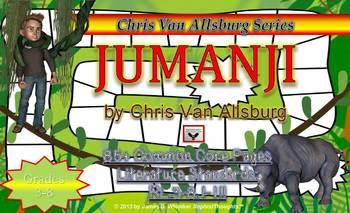Jumanji Book Study Chris Van Allsburg Common Core