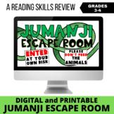 Jumanji Escape Room (Digital and Printable)