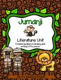 Jumanji Literature Study and Activities