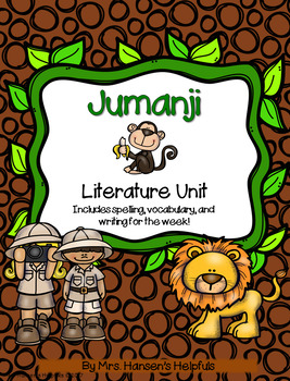 Jumanji Literature Study and Activities