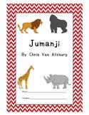 Jumanji Workbook with Game Board Comprehension Test