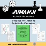 Jumanji by Chris Van Allsburg Language Literacy Book Compa