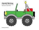 Jumbled Alphabet Jeep: Letter Matching