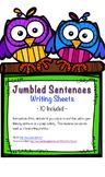 Jumbled Sentences Writing Cards