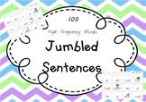 Jumbled Sight Word Sentences