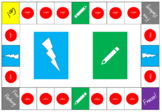 Jumbled Words Board Game (Literacy)