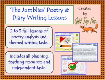 Jumblies Poetry and Diary Writing Lessons (Grades 3 to 5)