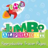 Jumbo Alphabet Tracers - Single Letters