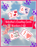 "Jumbo Counting Cards ""Valentines"" Theme"